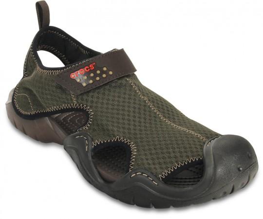 Espresso Men's Swiftwater Sandal by Crocs
