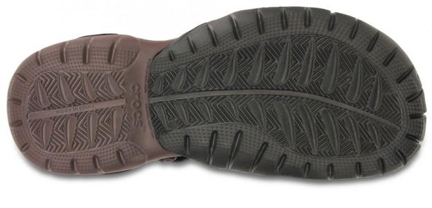 Espresso Men's Swiftwater Sandal by Crocs, Sole