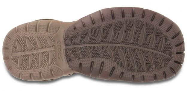 Khaki Men's Swiftwater Sandal by Crocs, Sole