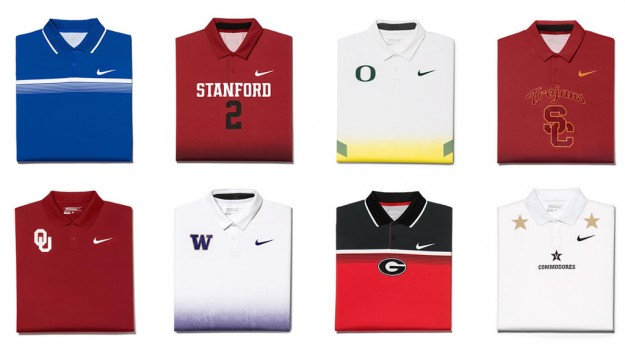 Uniforms For Men's Golf Championships by Nike