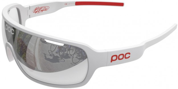White Men's Cycling Sunglasses