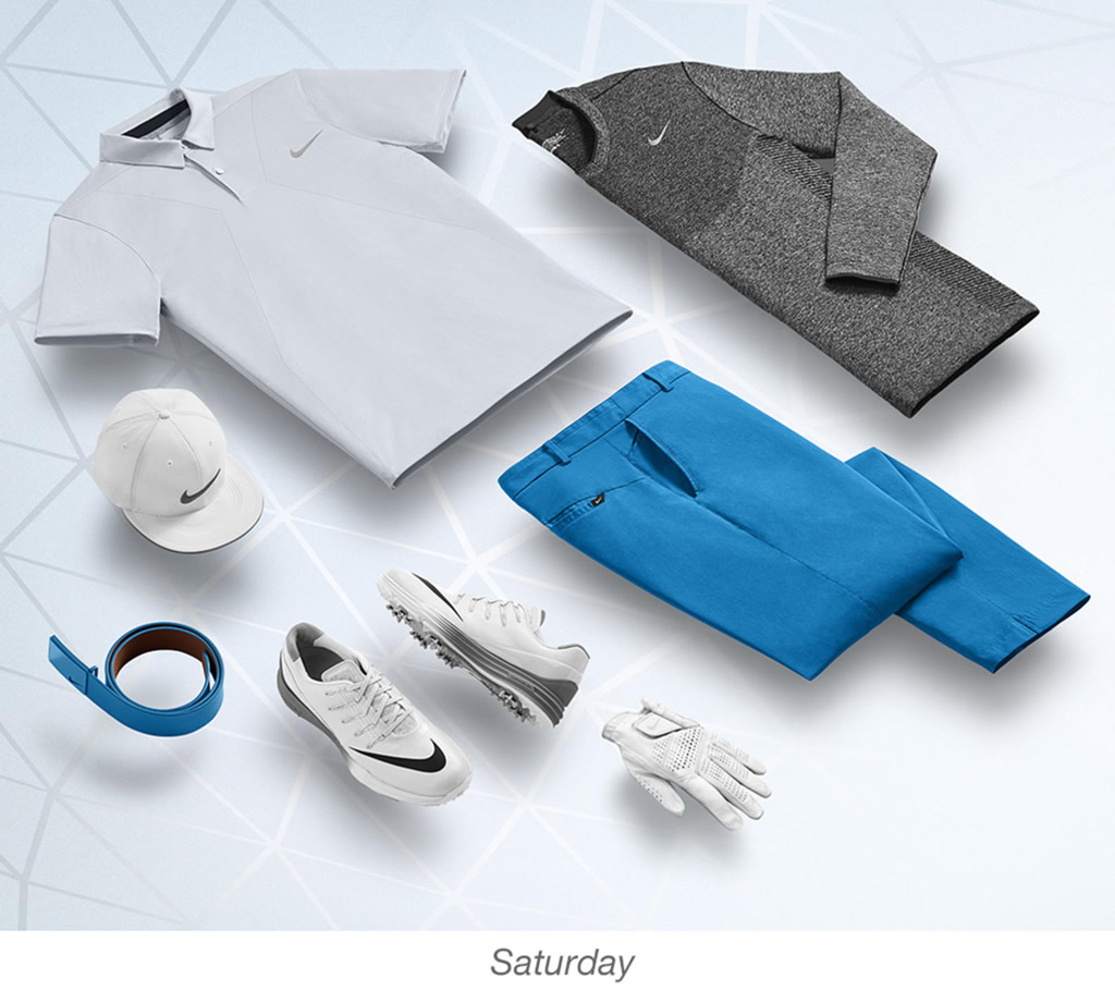 Brooks Koepka Men's Golf Outfits by Nike