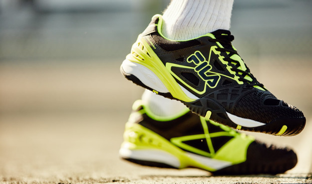 Cage Delirium Performance Men's Tennis Shoes By FILA