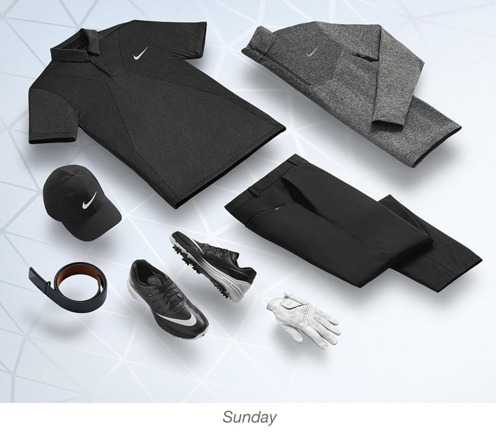 Charl Schwartzel, Nike men's golf outfits