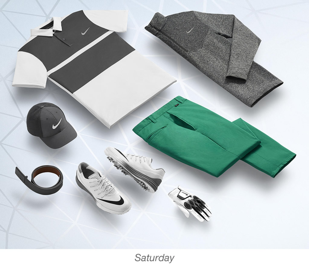 Men's golf outfits Paul Casey by Nike