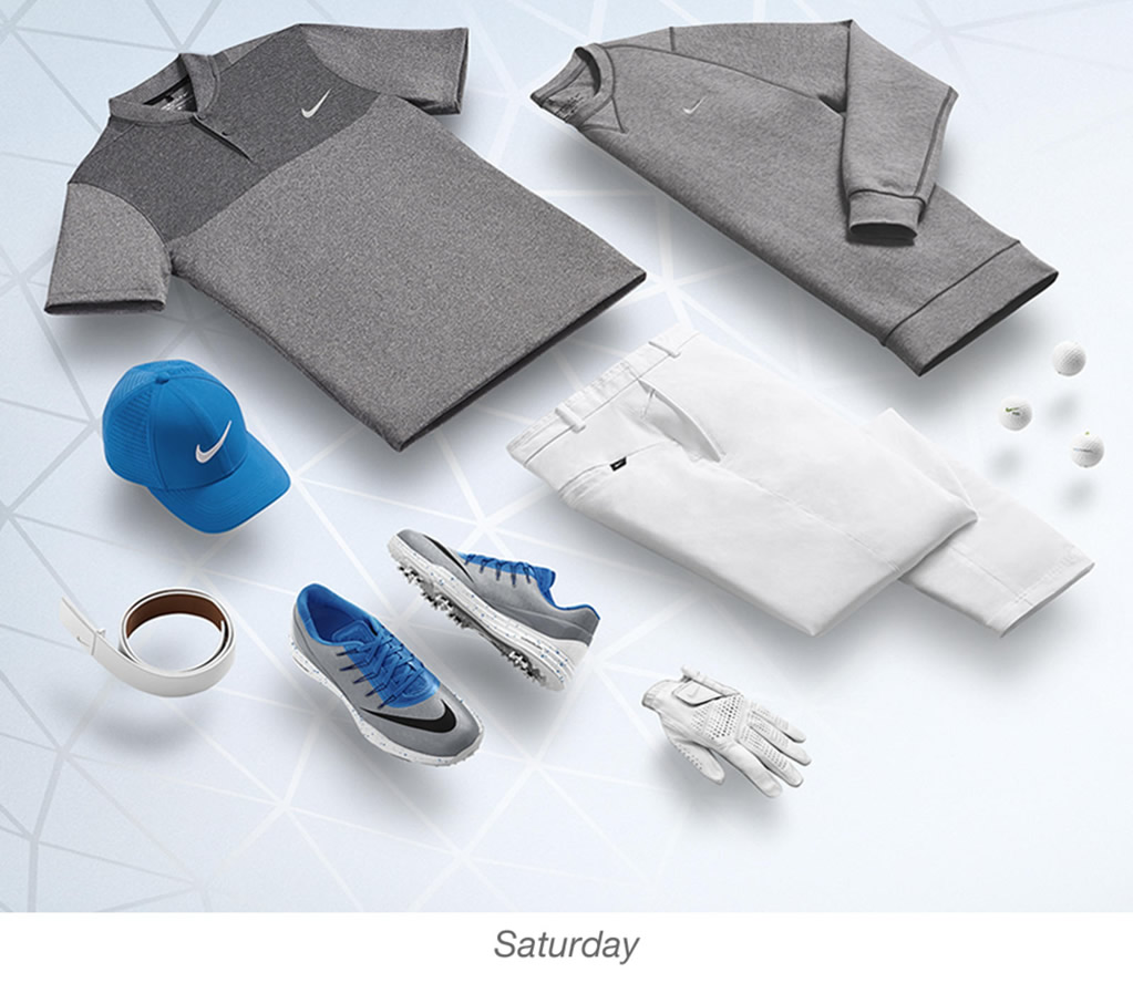 Men's golf outfits -Rory McIlroy by Nike