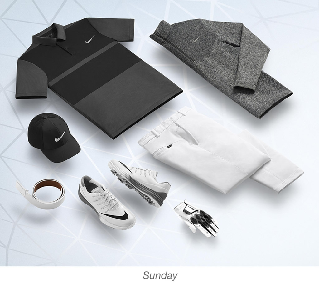 Nike men's golf outfits