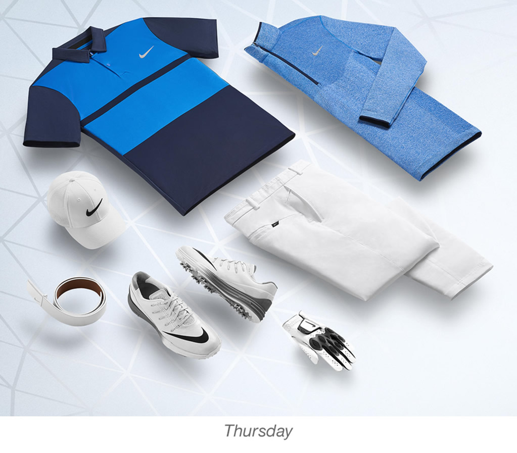 Paul Casey , Nike men's golf outfits