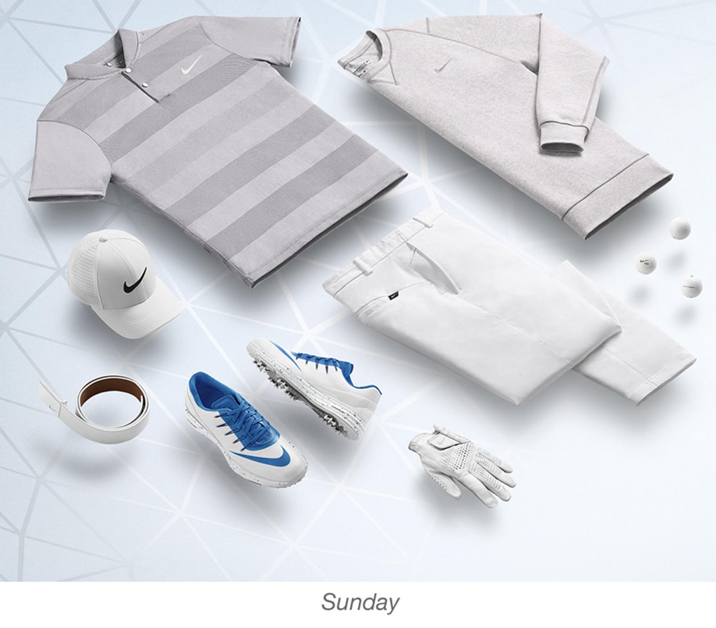 Rory McIlroy Men's Golf Outfits by Nike