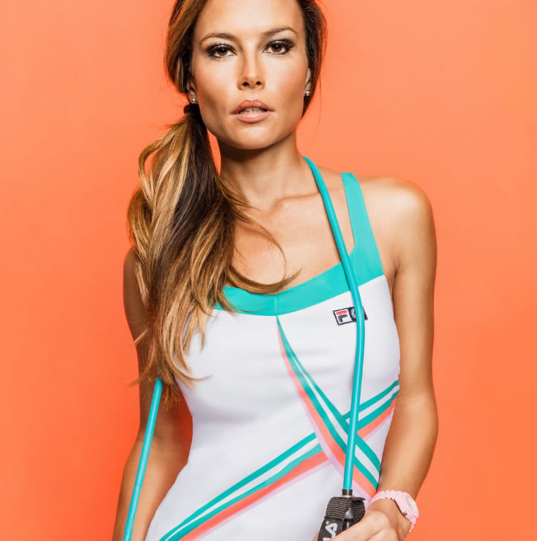 Women's Tennis Collection By FILA And Marion Bartoli