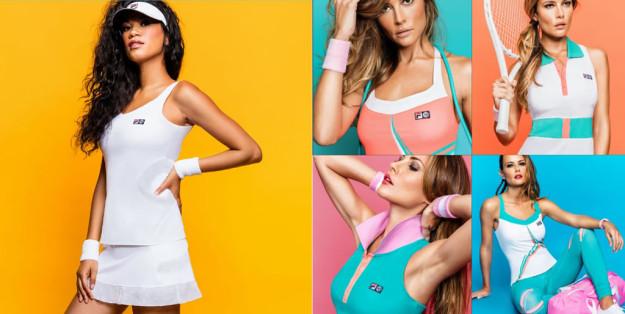Women's Tennis Collection By FILA x Marion Bartoli