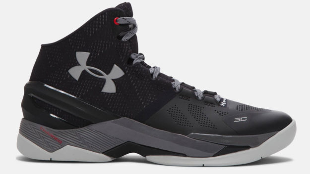 Black Under Armour Curry Two Men's Basketball Shoe