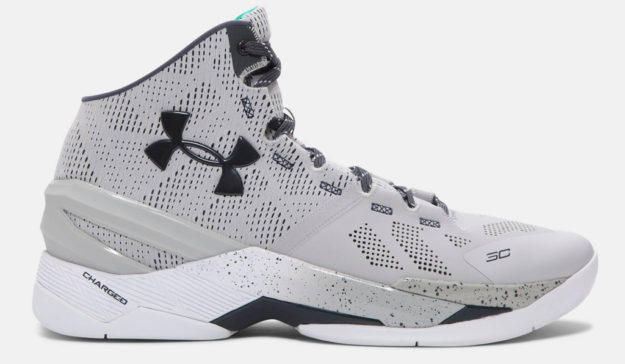 Gray Under Armour Curry Two Men's Basketball Shoe