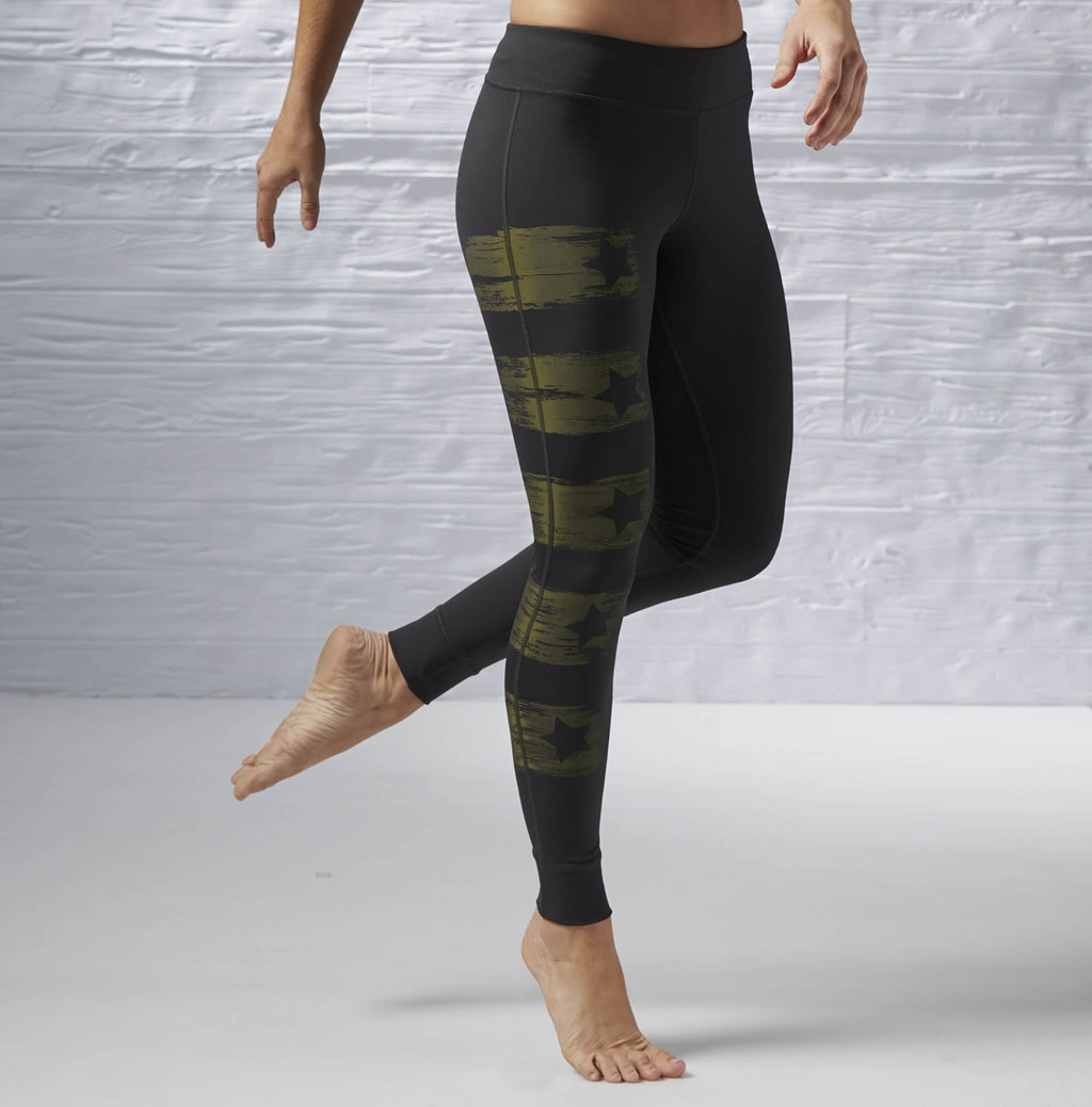 Painted Women's Yoga Leggings by Reebok