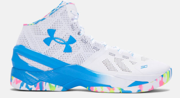 Party Curry Two Men's Basketball Shoe by Under Armour