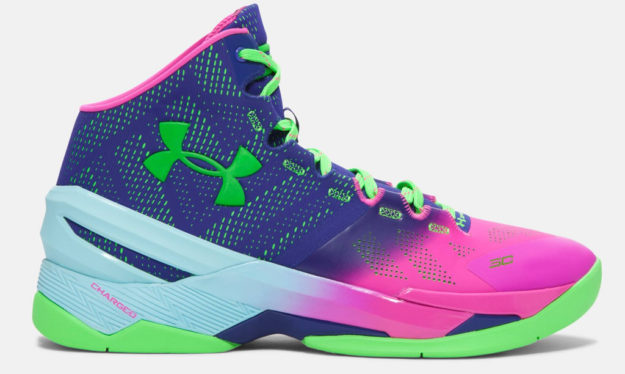 Pink Under Armour Curry Two Men's Basketball Shoe