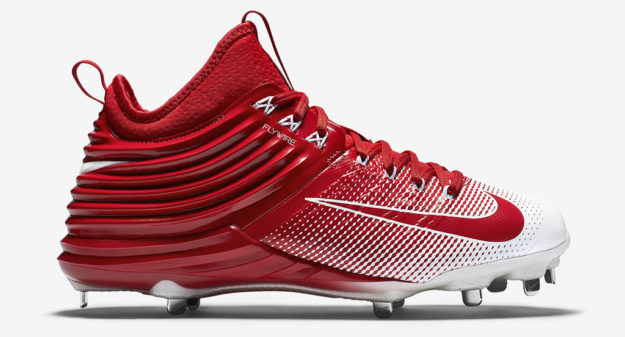 Red Men's Baseball Cleats by Nike