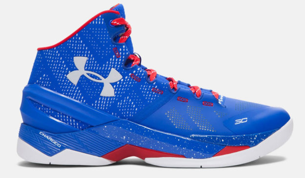 Royal Under Armour Curry Two Men's Basketball Shoe