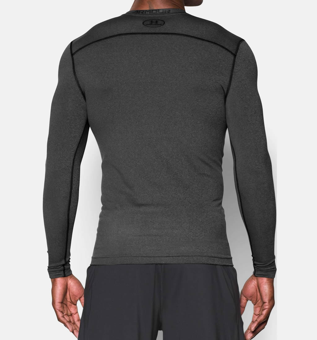 Carbon Men's Long Sleeve Shirt by UA, Back
