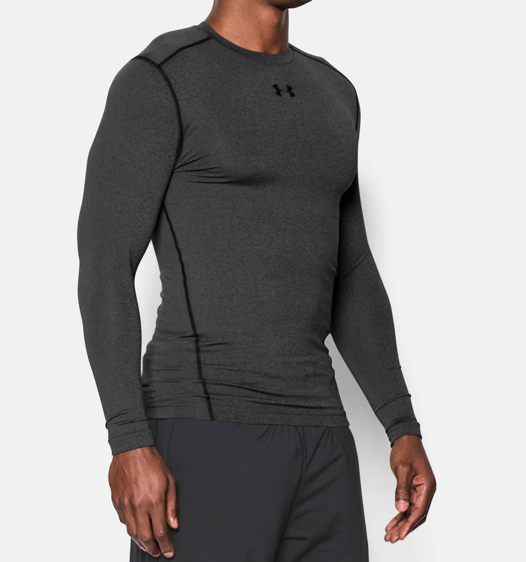 Carbon Men's Long Sleeve Shirt by UA