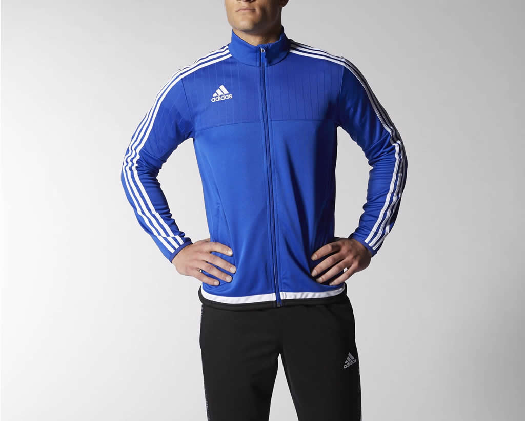 Tiro 15 men's soccer jacket by Adidas