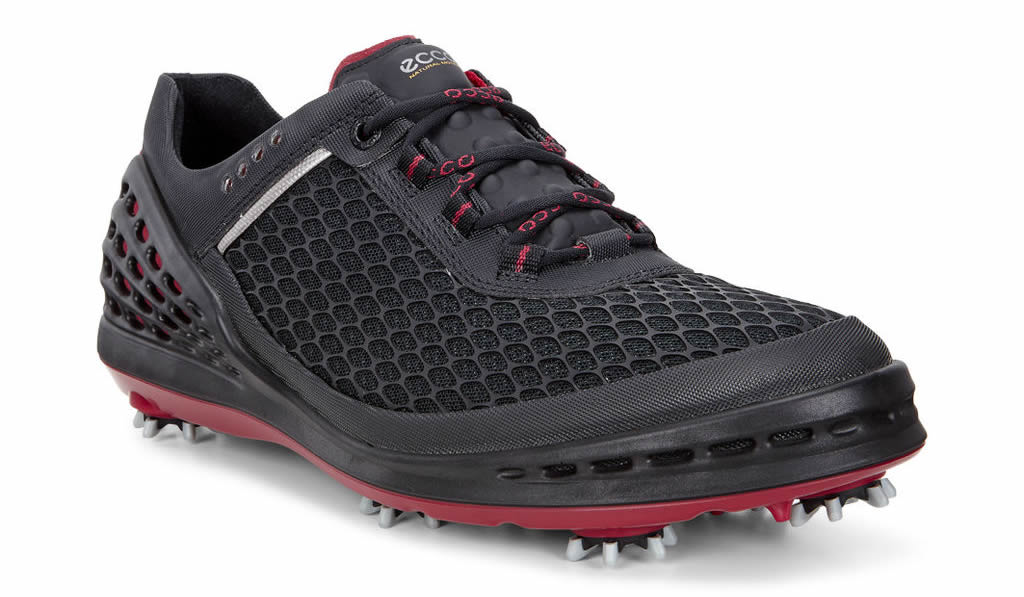 Black Men's Cage EVO Golf Shoe by Ecco