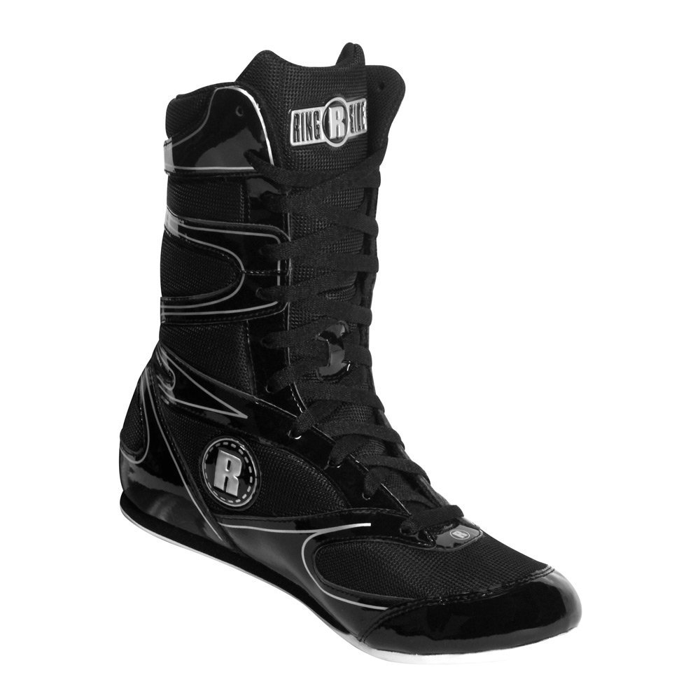 Black Ringside Men's Undefeated Boxing Shoes