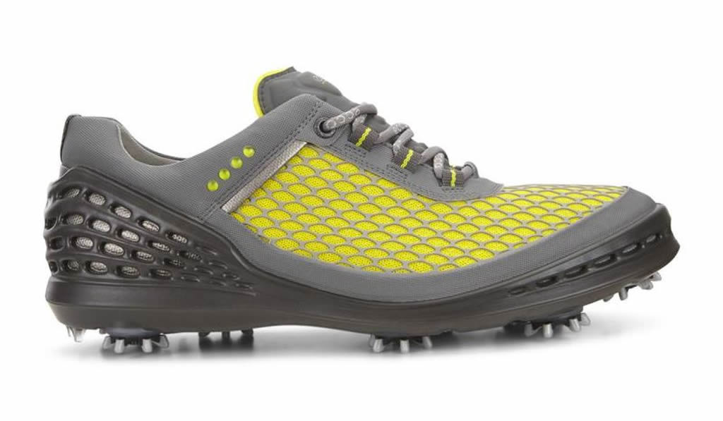 SULPHUR Men's Cage EVO Golf Shoe by Ecco, Side