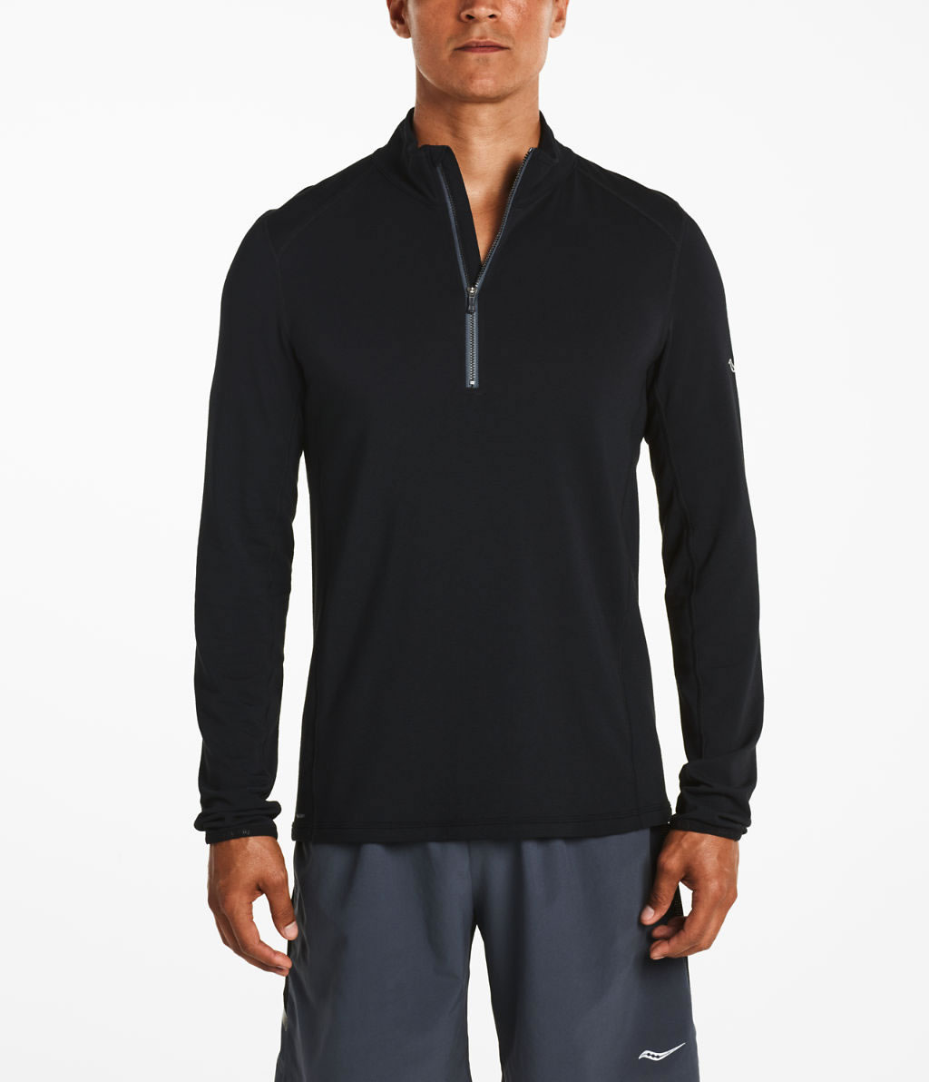 Men's long sleeve running top by Saucony