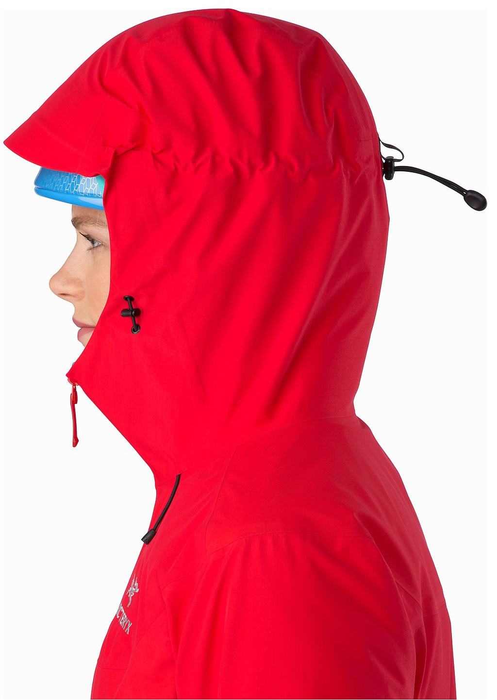 Red Women's Beta SL Hybrid Jacket by Arc'teryx, Hoodie