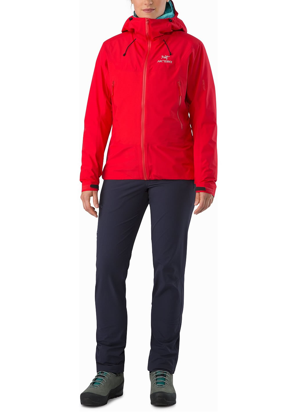 Red Women's Beta SL Hybrid Jacket by Arc'teryx