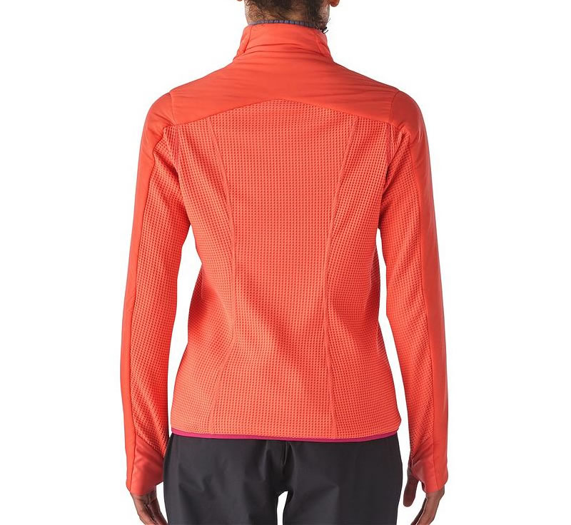 Coral Nano-Air Patagonia women's jacket, Back