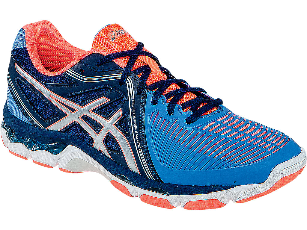 Women's Gel-Netburner Ballistic Volleyball Shoes by Asics