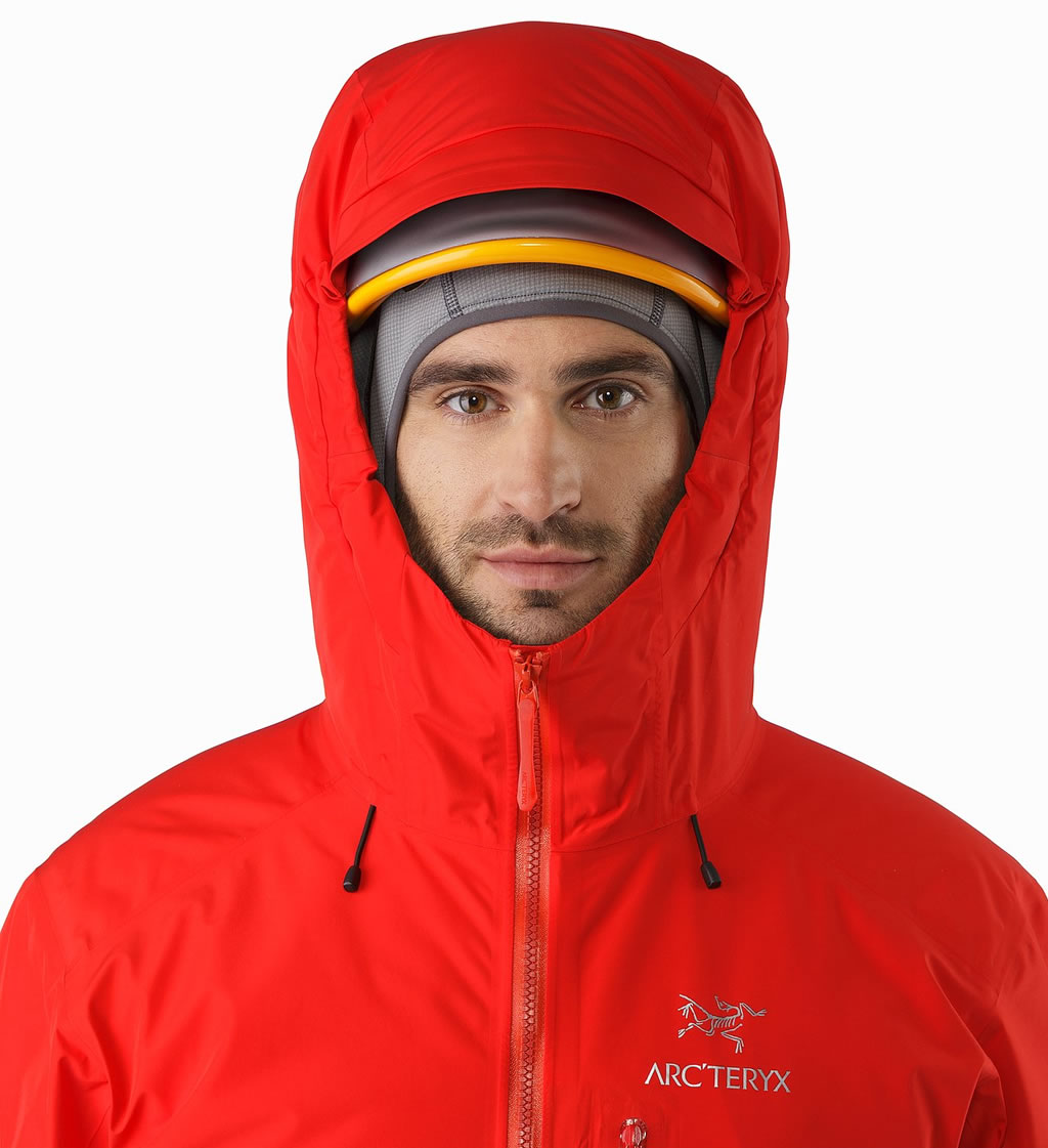Alpha IS Jacket by Arc'teryx, Helmet