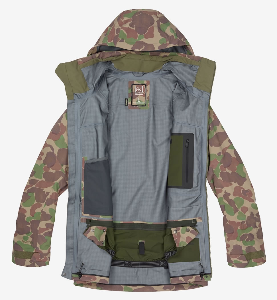 Camo Burton GORE‑TEX® 3L Hover Jacket, Insulation