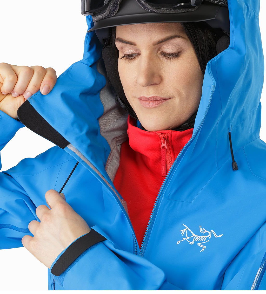 Arc'teryx Sentinel Ski Jacket, Hood Adjuster