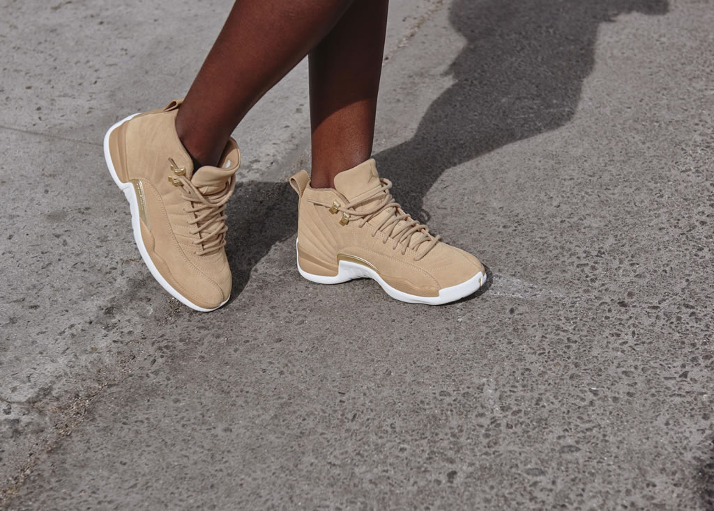 Women's Air Jordan XII Vachetta Tan Shoes