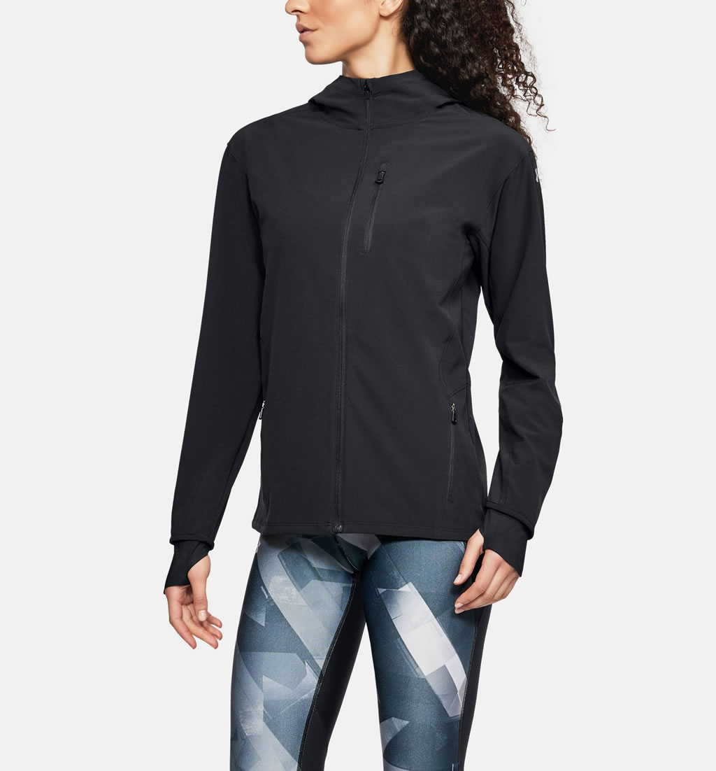 UA Outrun The Storm Women's Running Jacket